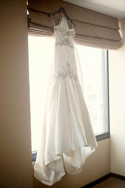 1. Alicia & Kris. Newberry Library Wedding. iLuvPhoto. Sweetchic Events. Dress