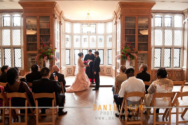 11 Morton Arboretum wedding intimate Founders Room ceremony Dan Gin Photography Sweetchic Events