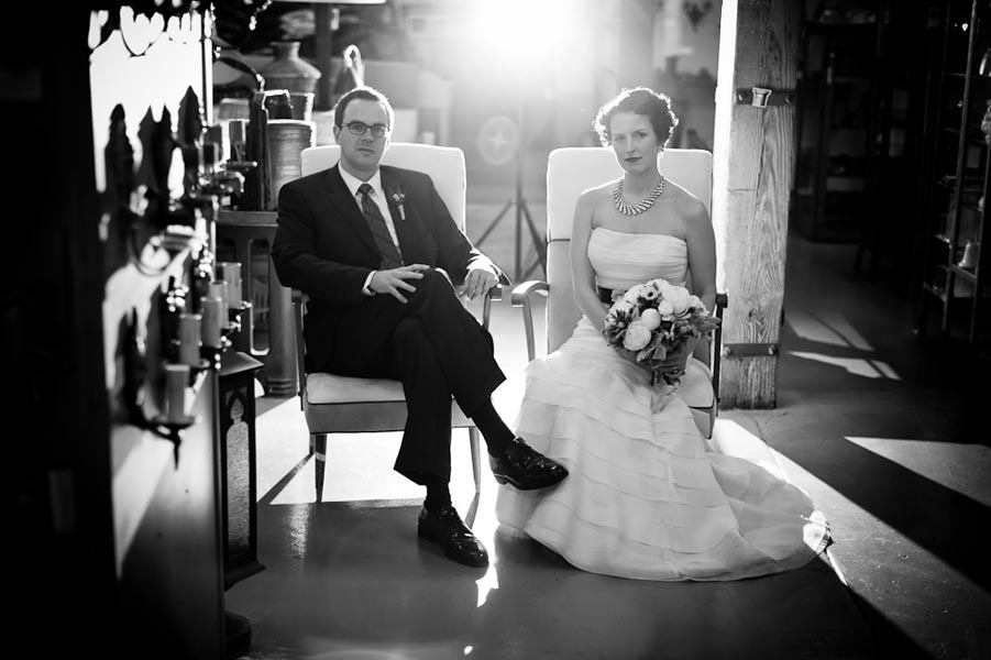 12 Architectual Artifacts Wedding Pen Carlson Photography Sweetchic Events Bride and Groom First Look Sitting