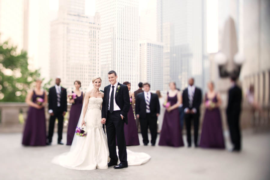 13. Alicia & Kris. Newberry Library Wedding. iLuvPhoto. Sweetchic Events. Bridal Party