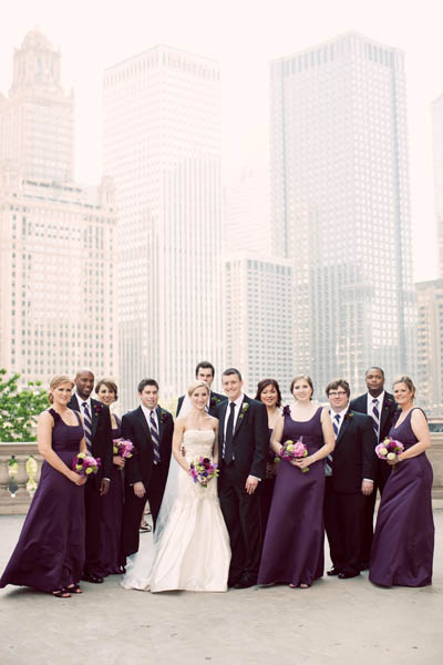 14. Alicia & Kris. Newberry Library Wedding. iLuvPhoto. Sweetchic Events. Bridal Party