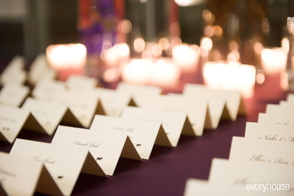 18.  The Ivy Room. Avery House. Sweetchic Events. White Escort Cards