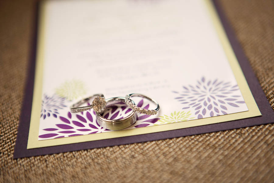 2. Alicia & Kris. Newberry Library Wedding. iLuvPhoto. Sweetchic Events. Rings. Stationary.