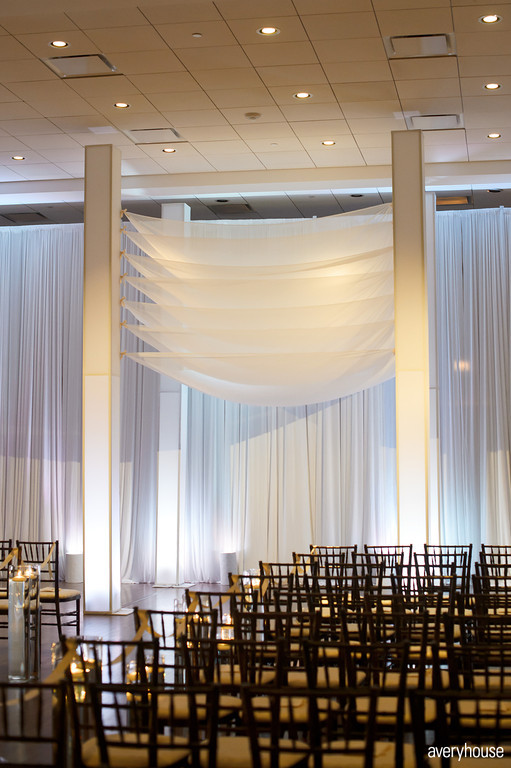 20.  The Ivy Room. Avery House. Sweetchic Events. Flower Firm. Custom Seven Layer White Chuppah