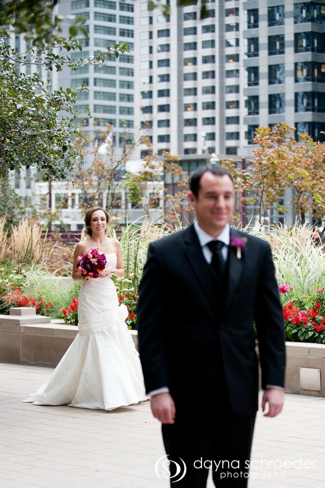 4 Westin River North chicago wedding sweetchic events dayna schroeder First Look