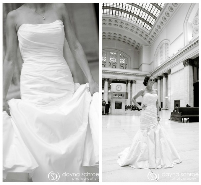 Westin River North chicago wedding sweetchic events dayna schroeder union station blanca