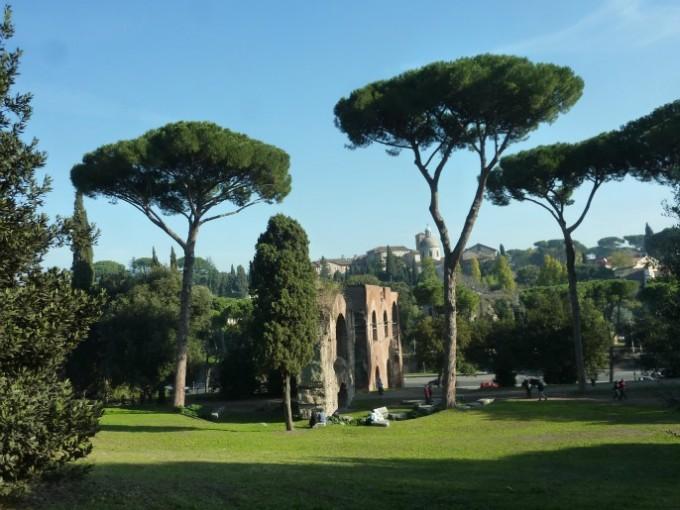 4 Rome views