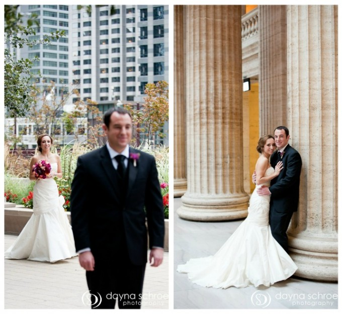 Westin Chicago wedding dayna schroeder photography sweetchic events first look union station
