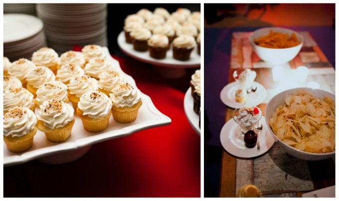 Architectural Artifacts Wedding Pen Carlson Photography Sweetchic Events Cupcakes Dessert Table