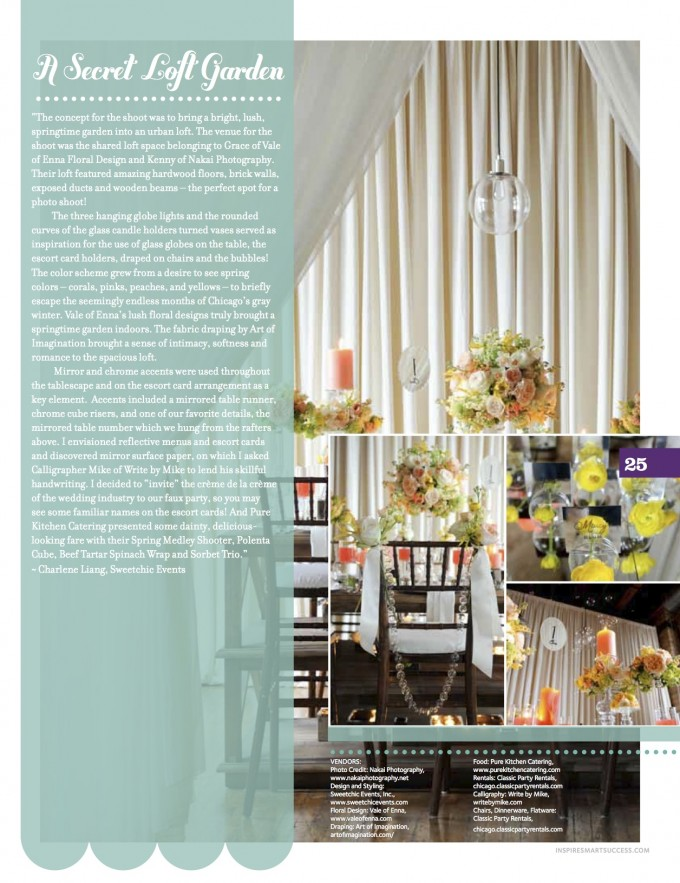 ISS Magazine April 2012.A Secret Loft Garden