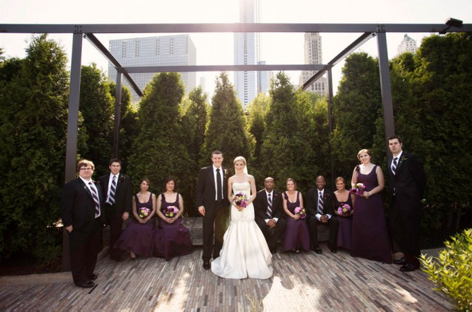 26. Alicia & Kris. Newberry Library Wedding. iLuvPhoto. Sweetchic Events. Millenium Park