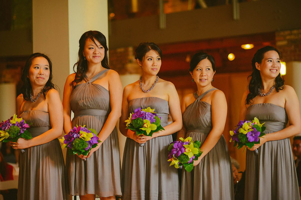 7. Karen.Boris.River East Art Center. Fragola Productions. Sweetchic Events. Bridesmaids.