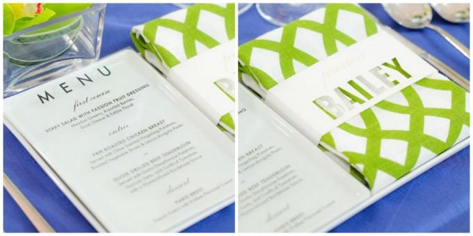 7  Sweetchic green modern fresh tablescape hinojosa photography. loft. see thru menu card. laser cut escort card