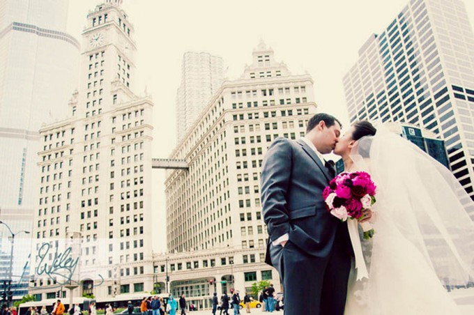 Anne.Rick The Rookery. J Wiley Photography. Sweetchic Events. Wrigley Building