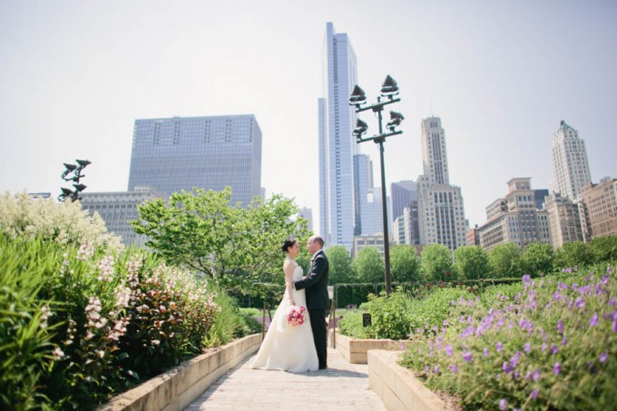 Chicago History Museum. Tib Tab Photography. Sweetchic Events. Millenium Park Lurie Garden.