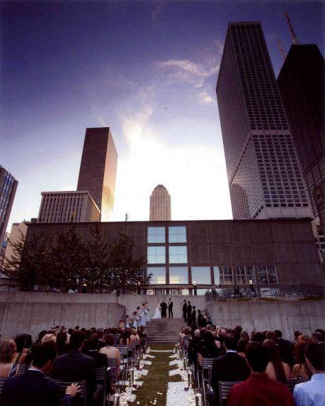 MCA outdoor ceremony dominika Fitzgerald
