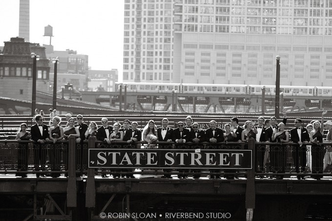 Trump Tower Wedding. Robin Sloan, Riverbend Studio. Sweetchic Events. State Street Bridge
