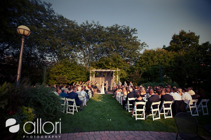galleria marchetti east courtyard - Allori Photography
