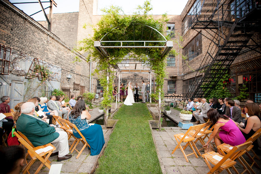 Chicago Wedding Venues With Outdoor Space