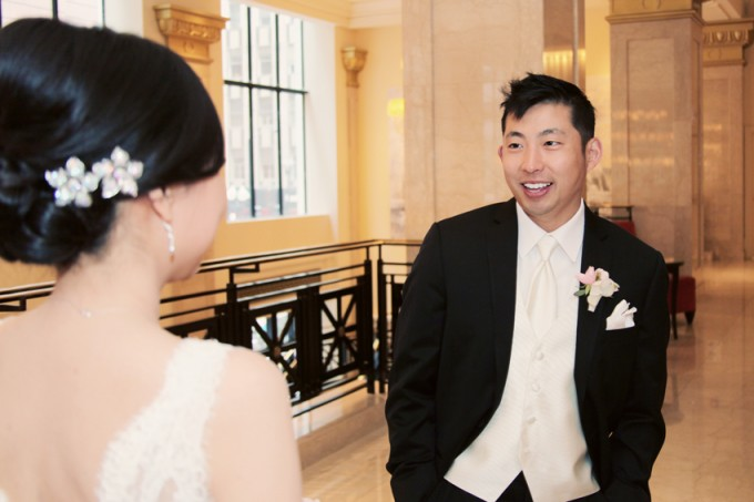 13. Rookery Wedding. Kevin Le Photography. Sweetchic Events. First Look.