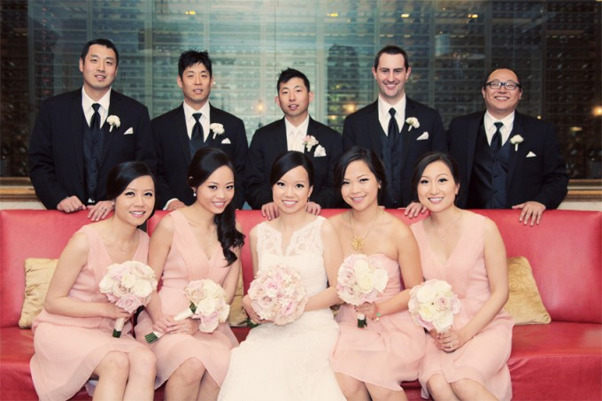 16. Rookery Wedding. Kevin Le Photography. Sweetchic Events. Bridal Party.