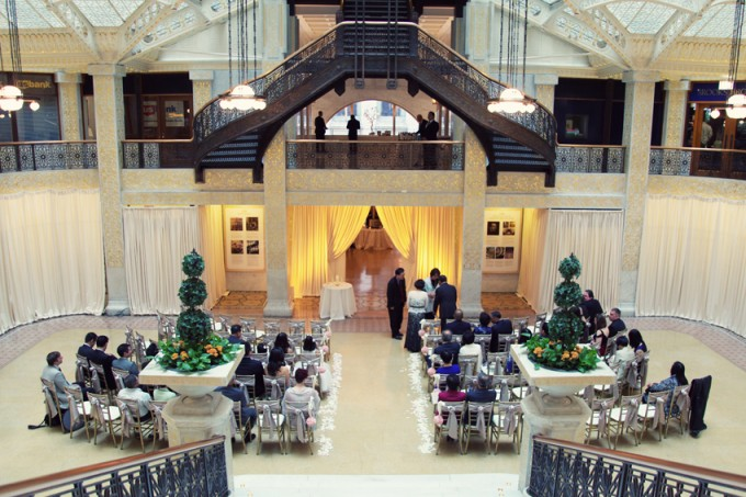 24.  Rookery Wedding. Kevin Le Photography. Sweetchic Events. Ceremony.