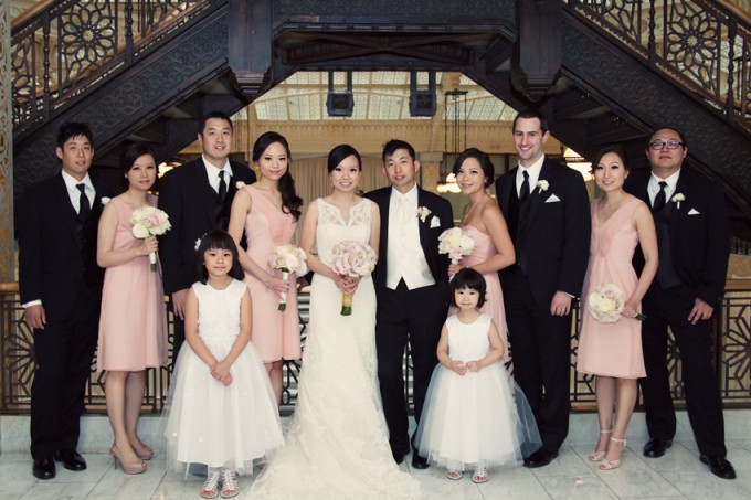 36. Rookery Wedding. Kevin Le Photography. Sweetchic Events. Bridal Party.