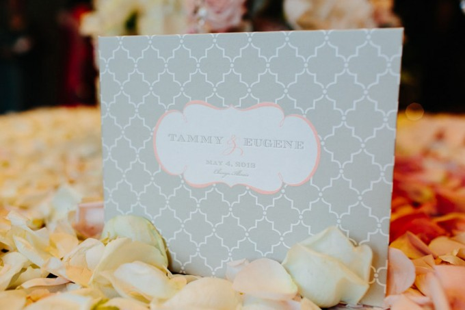 67. Trump Tower Wedding. Pen Carlson Photography. Sweetchic Events. Gray and Blush Pink Custom Invitations.