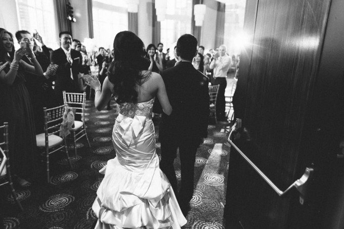 74. Trump Tower Wedding. Pen Carlson Photography. Sweetchic Events. Bride and Groom Introduction.