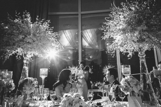 78. Trump Tower Wedding. Pen Carlson Photography. Sweetchic Events. Maid of Honor Toast.