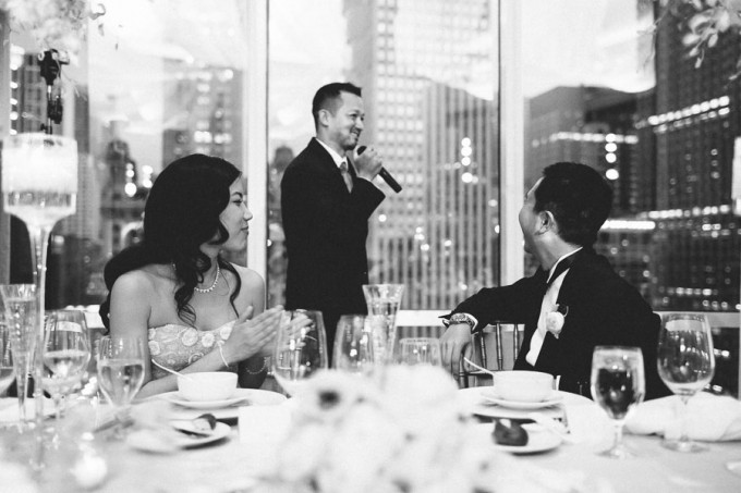 80. Trump Tower Wedding. Pen Carlson Photography. Sweetchic Events.  Best Man Toast