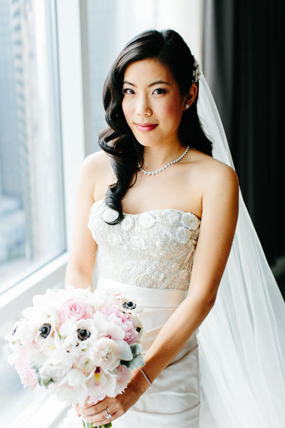 9. Trump Tower Wedding. Pen Carlson Photography. Sweetchic Events. Vale of Enna. Bride.