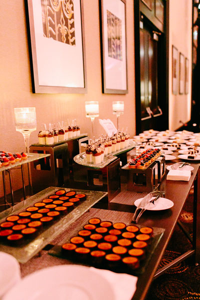 99. Trump Tower Wedding. Pen Carlson Photography. Sweetchic Events. Blush and Grey Dessert Table.
