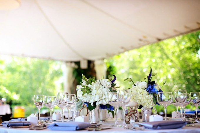 23. Chicago Botanic Garden Wedding. Life on Prints. Sweetchic Events. Exquisite Designs. Class Cylinder Trios with Submerged Curly willow and floating candle.
