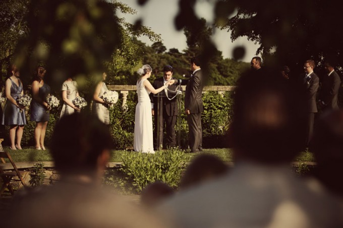 9. Chicago Botanic Garden Wedding. Life on Prints. Sweetchic Events. Ceremony in the English Garden. Tying the Knot.