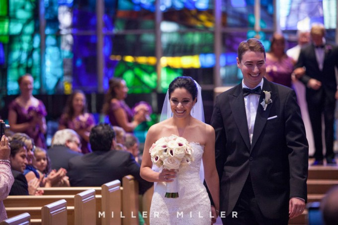 27. Germania Place Wedding. Miller & Miller Photography. Sweetchic Events. Alice Millar Chapel. Recessional.