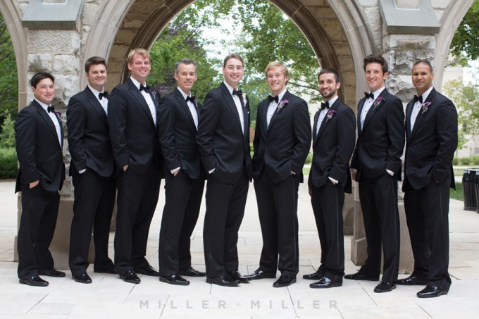 31. Germania Place Wedding. Miller & Miller Photography. Sweetchic Events. Groomsmen. Alice Millar Couryard.