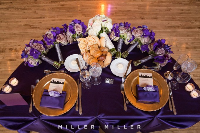 44. Germania Place Wedding. Miller & Miller Photography. Sweetchic Events. Sweetheart Table.