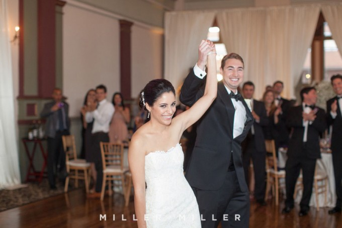 46. Germania Place Wedding. Miller & Miller Photography. Sweetchic Events. Bride and Groom Introductions
