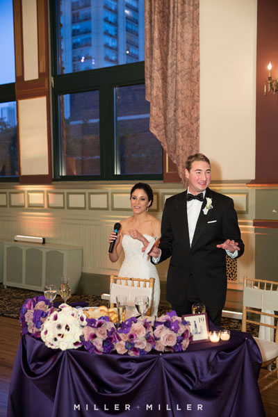 49. Germania Place Wedding. Miller & Miller Photography. Sweetchic Events. Thank You Toast