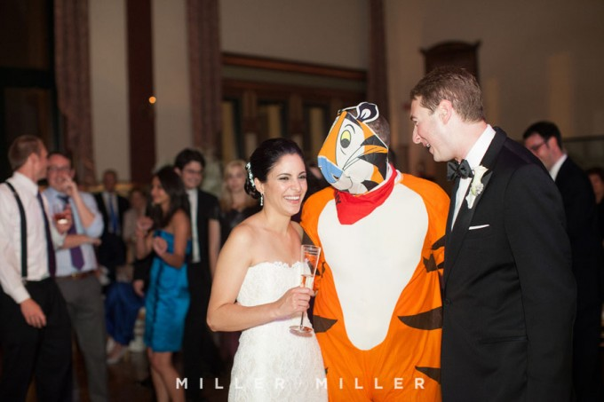56. Germania Place Wedding. Miller & Miller Photography. Sweetchic Events. Suprise Guest. Tony The Tiger.