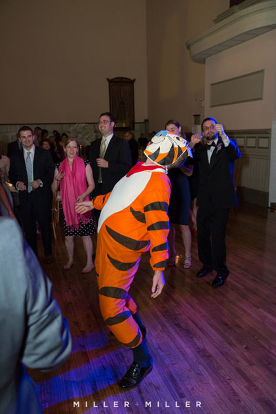 57. Germania Place Wedding. Miller & Miller Photography. Sweetchic Events. Tony the Tiger Does The Bernie.