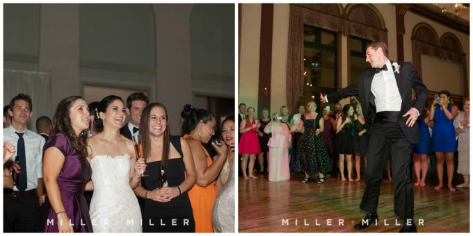 59. Germania Place Wedding. Miller & Miller Photography. Sweetchic Events. Bride and Groom Dance.
