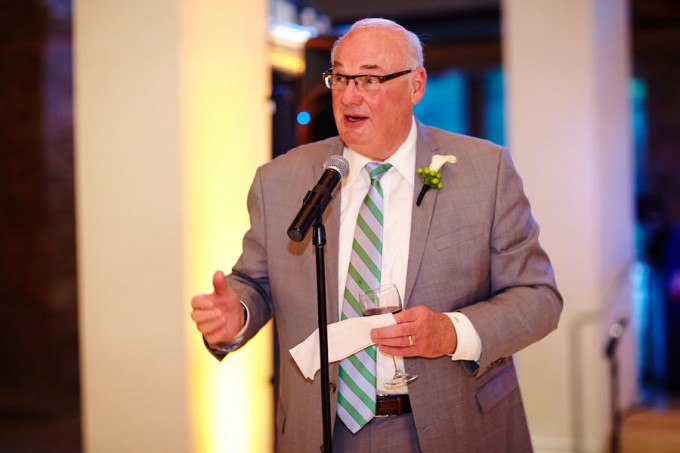 60. River East Art Center Wedding. Dennis Lee Photography. Sweetchic Events. Father of The Groom Speech