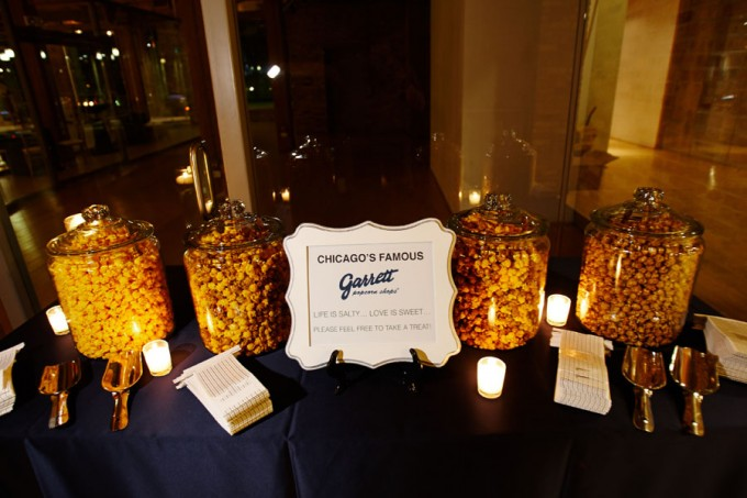 68. River East Art Center Wedding. Dennis Lee Photography. Sweetchic Events. Garrett's Popcorn Favors. Late Night