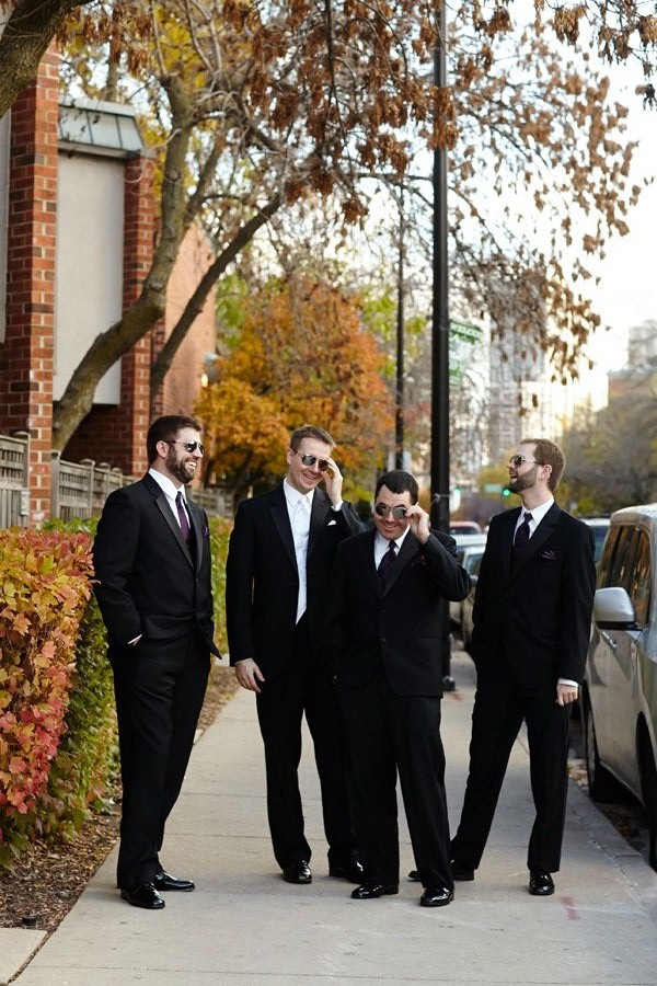 10.  Germania Place Wedding. Dennis Lee Photography. Sweetchic Events. Groomsmen in Sunglasses.