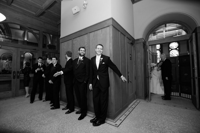13.  Germania Place Wedding. Dennis Lee Photography. Sweetchic Events. Bride and Groom Before Ceremony.
