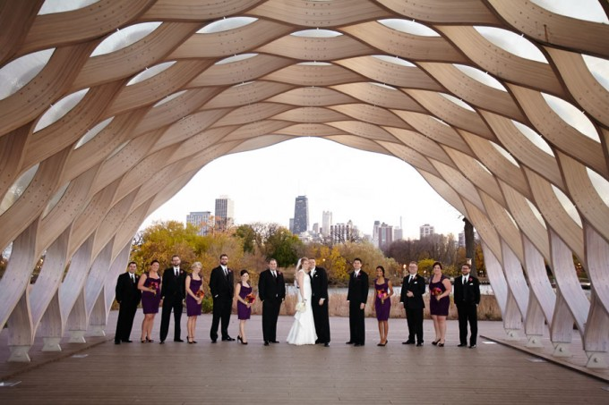 20. Germania Place Wedding. Dennis Lee Photography. Sweetchic Events. Bridal Party. Lincoln Park Zoo Honeycomb.