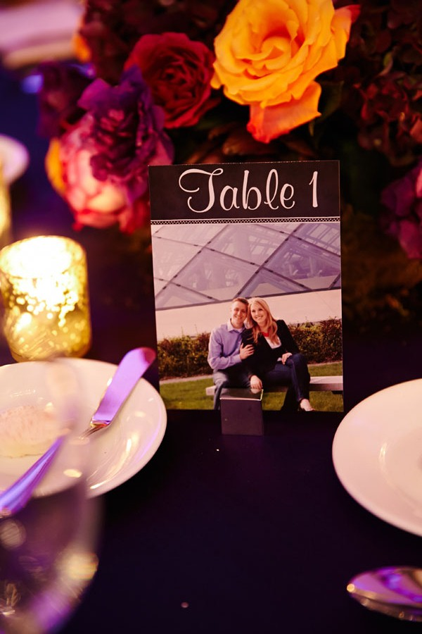 31. Germania Place Wedding. Dennis Lee Photography. Sweetchic Events. Engagement Picture Table Numbers.