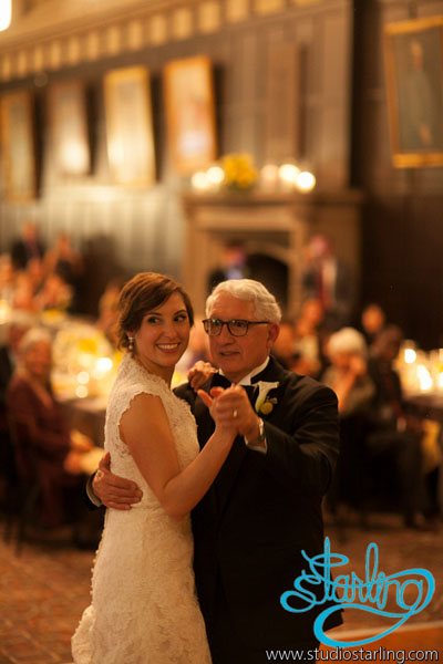 40. U of C Hutchinson Commons Wedding. Studio Starling. Sweetchic Events. Father Daughter Dance.